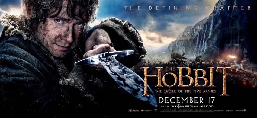 Hobbit Bitwa 5 armi - baner