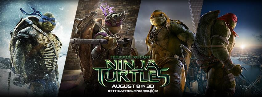 Wojownicze Żółwie Ninja - baner