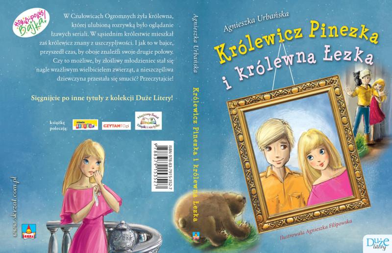 Królewicz Pinezka i królewna Łezka - pełna okładka