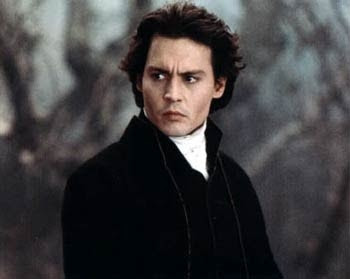 Johnny Depp - Jeździec bez głowy