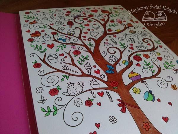 Kreatywne kolorowanie - Drzewo (2)