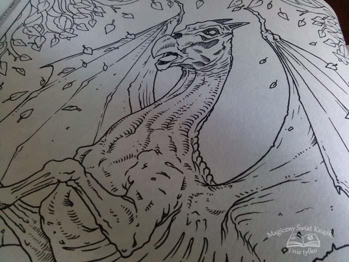 Magiczne Stworzenia - kolorowanka (2)