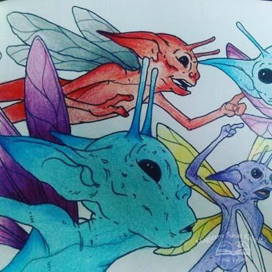 Magiczne Stworzenia - kolorowanka (8)