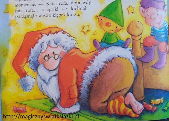 Święty Mikołaj wchodzi kominem (2)