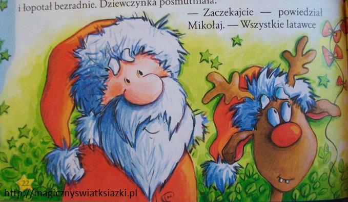 Święty Mikołaj wchodzi kominem (3)