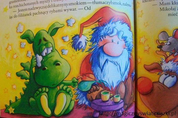 Święty Mikołaj wchodzi kominem (4)