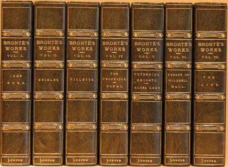 książki sióstr  Brontë